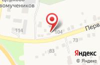 Схема проезда до компании Центр гигиены и эпидемиологии Краснодарского края в Северской