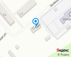 Схема местоположения почтового отделения 140450