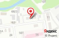 Схема проезда до компании Восточная волна в Павловском Посаде