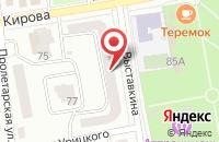 Схема проезда до компании Стрелец в Павловском Посаде
