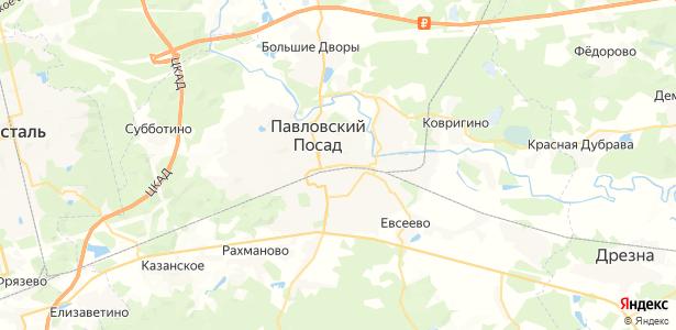 Павловский Посад на карте