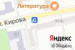 Схема проезда до компании Виктория в Павловском Посаде