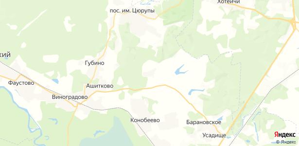 Ворыпаево на карте