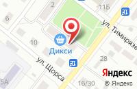 Схема проезда до компании Тиана в Павловском Посаде
