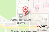 Схема проезда до компании Совет депутатов Воскресенского муниципального района Московской области в Воскресенске