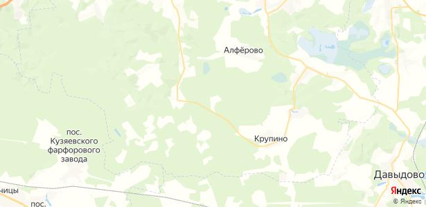 Дергаево на карте