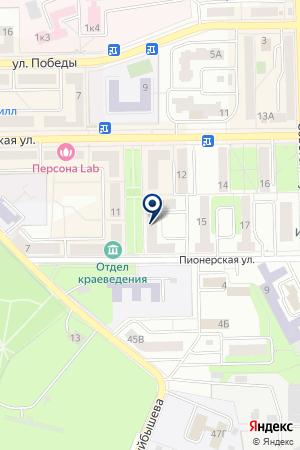 САЛОН КРАСОТЫ BEAUTY TIME на карте Воскресенска