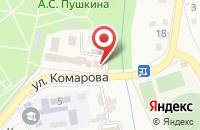 Схема проезда до компании Отдел по вопросам миграции отдела МВД России по Северскому району в Северской