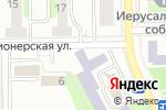 Схема проезда до компании Вечерняя общеобразовательная школа №8, ГБУЗ в Воскресенске