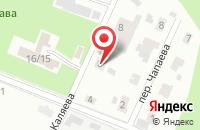 Схема проезда до компании Триада-М в Павловском Посаде