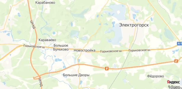 Борисово на карте