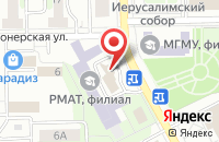 Схема проезда до компании OnlineTur в Воскресенске