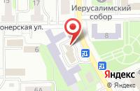 Схема проезда до компании Фабрика мебели в Воскресенске