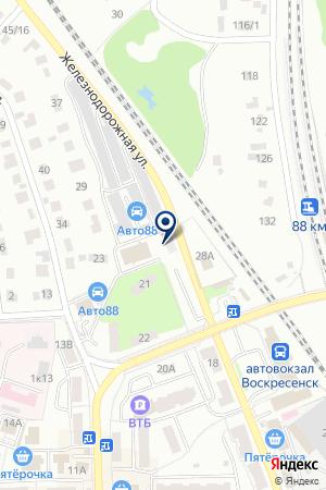 ТФ ЭХО на карте Воскресенска