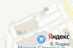 Схема проезда до компании Белый Соболь в Воскресенске