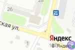 Схема проезда до компании Пятерочка в Павловском Посаде