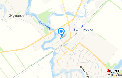 Местоположение на карте пункта техосмотра по адресу Краснодарский край, Калининский р-н, ст-ца Старовеличковская, ул Придорожная, д 1