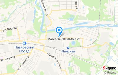 Местоположение на карте пункта техосмотра по адресу Московская обл, г Павловский Посад, ул Интернациональная, д 55