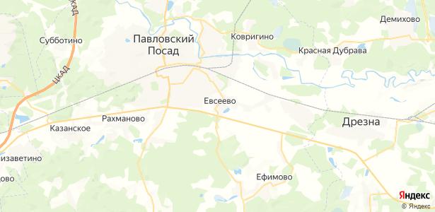 Евсеево на карте