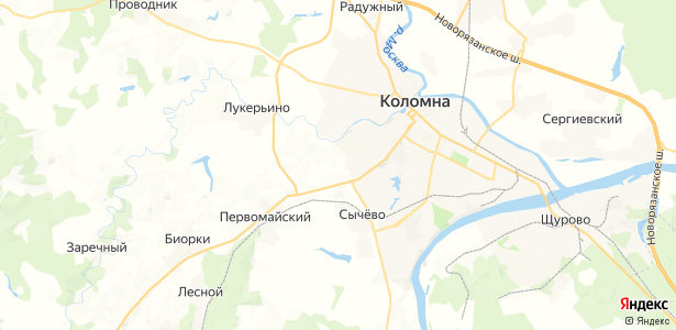 Солосцово на карте