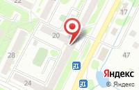 Схема проезда до компании Территория красоты в Воскресенске