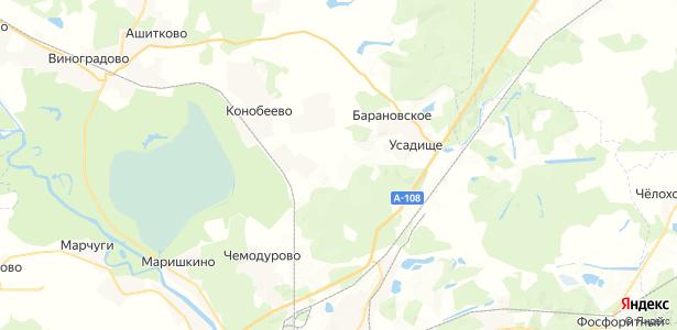 Щербово на карте