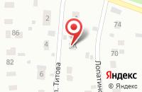 Схема проезда до компании Механизатор-21 в Воскресенске