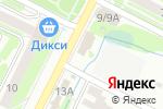 Схема проезда до компании Вита в Воскресенске