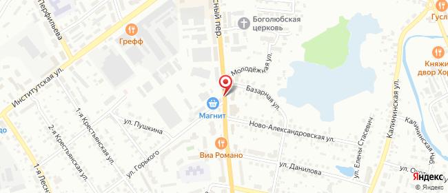 Карта расположения пункта доставки Сервисный центр IT-COM в городе Александров