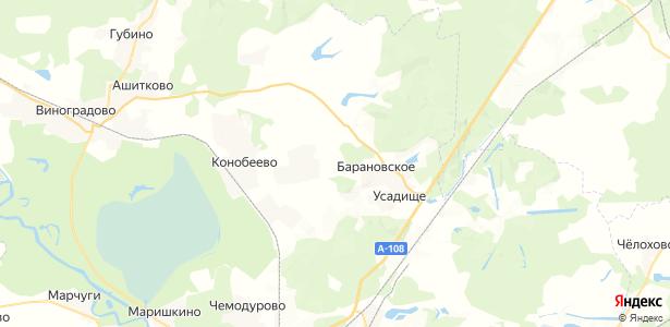 Бочевино на карте