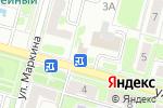 Схема проезда до компании Куриный дом в Воскресенске
