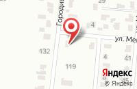 Схема проезда до компании К-Вариант в Коломне