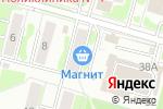 Схема проезда до компании Магнит в Воскресенске