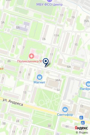 ТФ ТАИК на карте Воскресенска