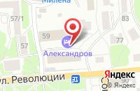 Схема проезда до компании Большая Страна-Александров в Александрове