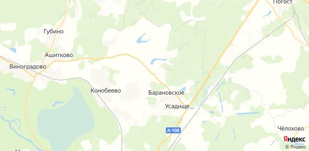 Медведево на карте