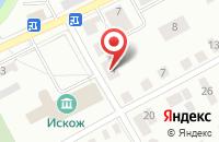 Схема проезда до компании Каскад в Александрове
