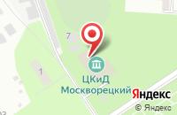 Схема проезда до компании Москворецкий в Воскресенске