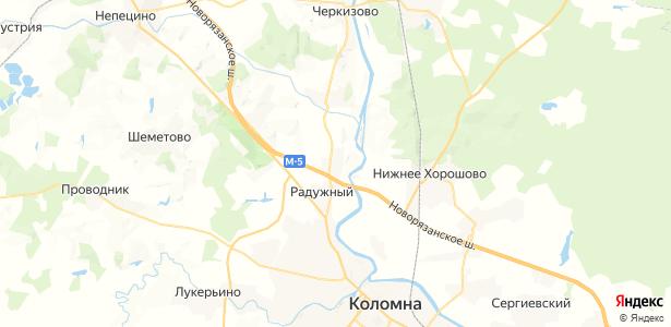 Бакунино на карте