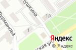 Схема проезда до компании Продуктовый магазин в Воскресенске