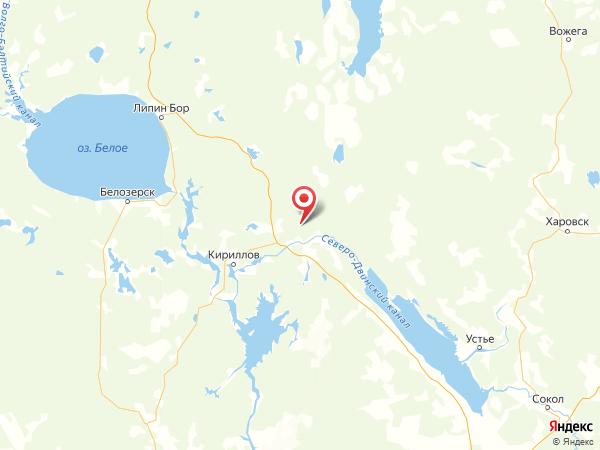 урочище Павлово на карте
