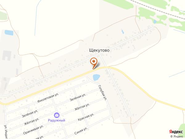 Остановка Щекутово 2 (Московская область)