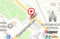 Схема проезда до компании Главное управление Государственного административно-технического надзора Московской области в Коломне