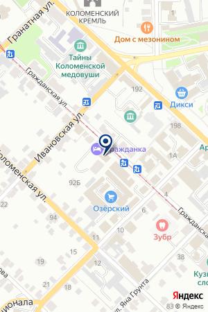 КЛУБ-САЛОН МАСТЕР на карте Коломны