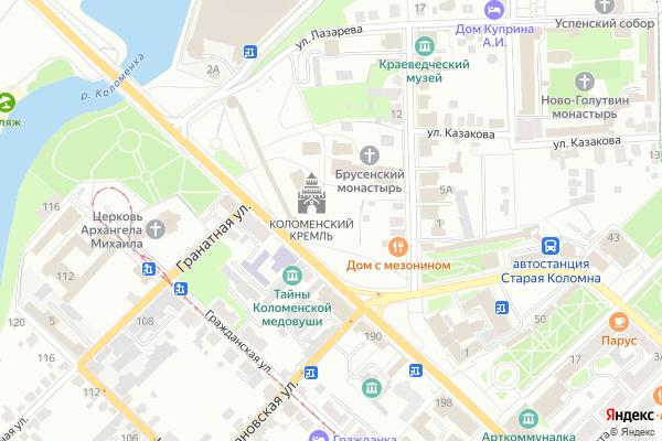 Ремонт телевизоров Город Коломна на яндекс карте