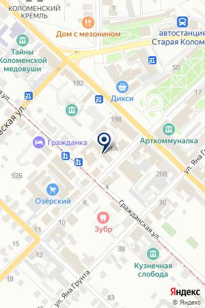 АГЕНТСТВО НЕДВИЖИМОСТИ ДОММ на карте Коломны