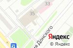 Схема проезда до компании КИПАРИС в Коломне
