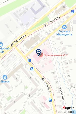 АПТЕЧНЫЙ ПУНКТ ПКФ ДОММ на карте Коломны