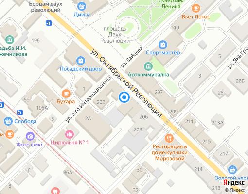 Управляющая компания «ДГХ» на карте Коломны