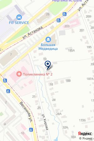 ФЕДЕРАЦИЯ СПОРТИВНОЙ АЭРОБИКИ РОССИИ на карте Коломны